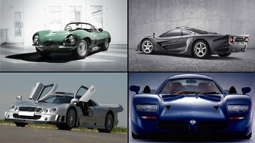 10 supercars inspired by cars that ran the 24 Hours of Le Mans