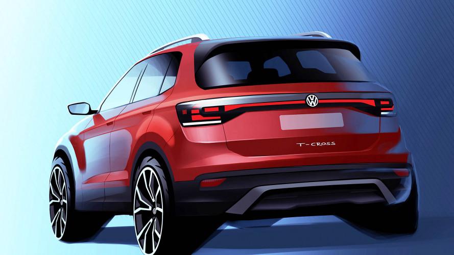 VW T-Cross: Erstes offizielles Bild