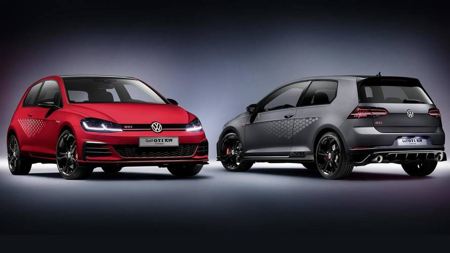 VW Golf GTI TCR Concept Unveiled As The Fastest Golf GTI Ever