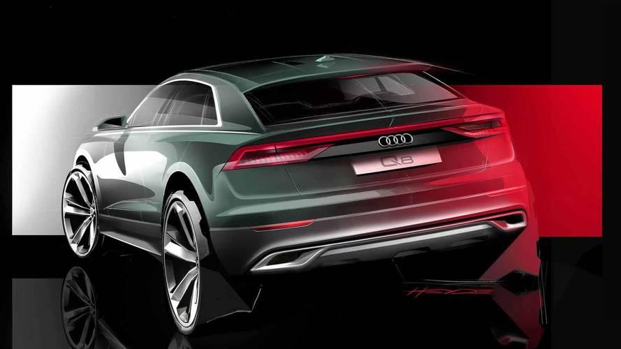 Audi poursuit le teasing du Q8