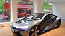 BMW i dealership in London's Park Lane 20.05.2013