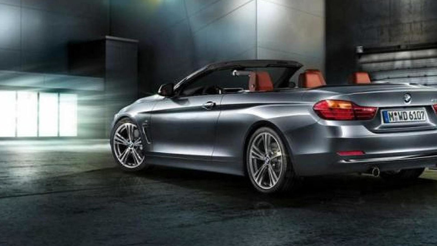 2014 BMW 4-Series Cabrio rendered