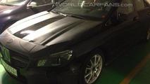 Mercedes-Benz CLA spy photo