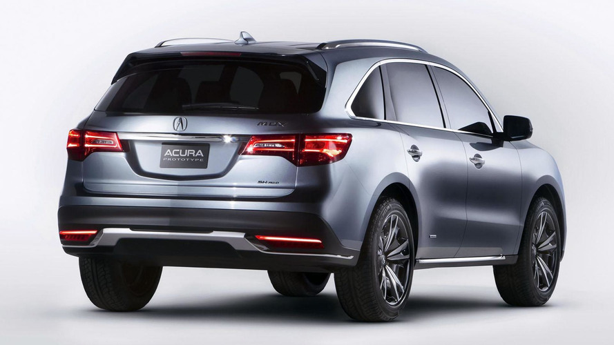 2014 Acura MDX to debut in New York