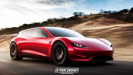 Tesla Roadster şimdiden Shooting Brake oldu bile!