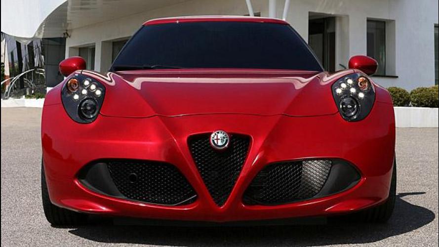 Alfa Romeo 4C: cambiano i fari?