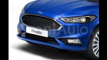 Ford Fiesta, il rendering