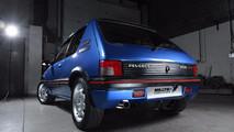 Peugeot 205 GTi par Milltek Classic