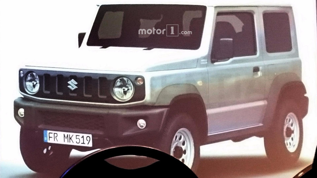 2018 suzuki 85. perfect suzuki 2018 suzuki jimny leaked official image for suzuki 85