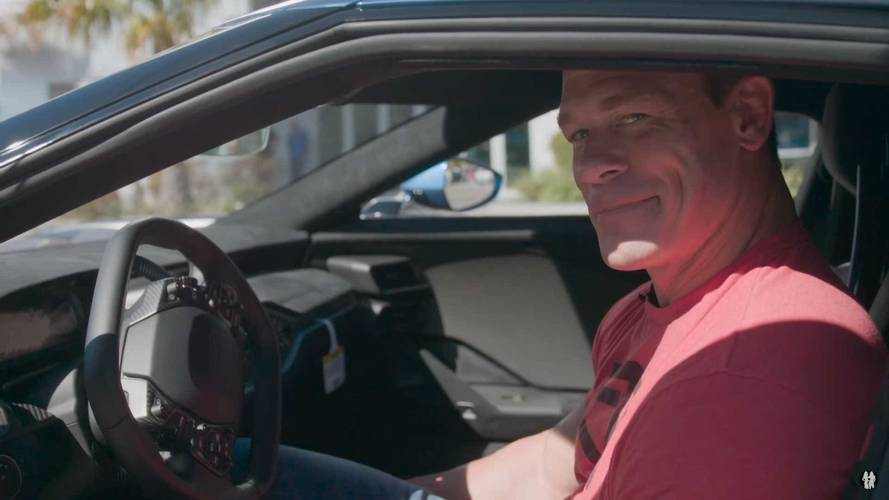 John Cena Counters Ford In Legal Spat Over Selling His Ford GT