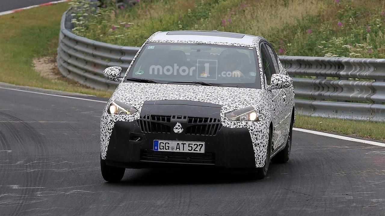 Opel Corsa Sedan casus fotoğrafları - Nürburgring