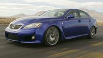 Lexus IS-F to Make European Debut