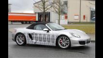 Neuer Porsche Boxster erwischt