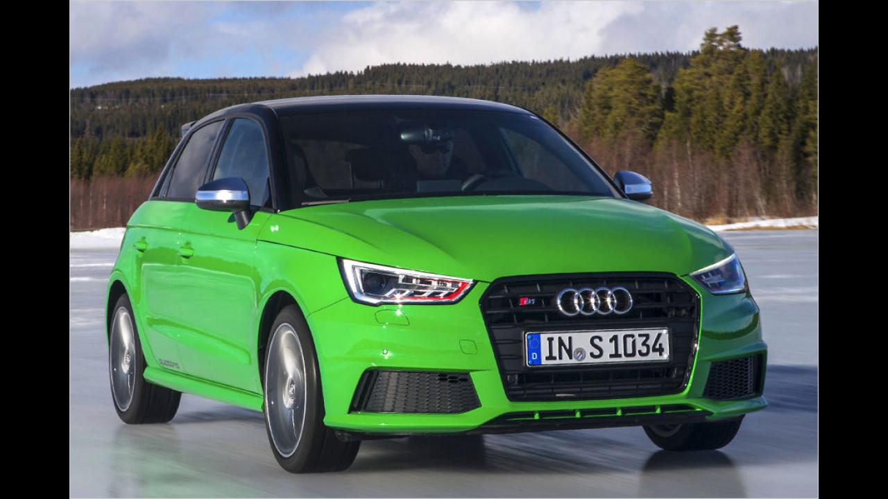 Audi S1: 5,8 Sekunden