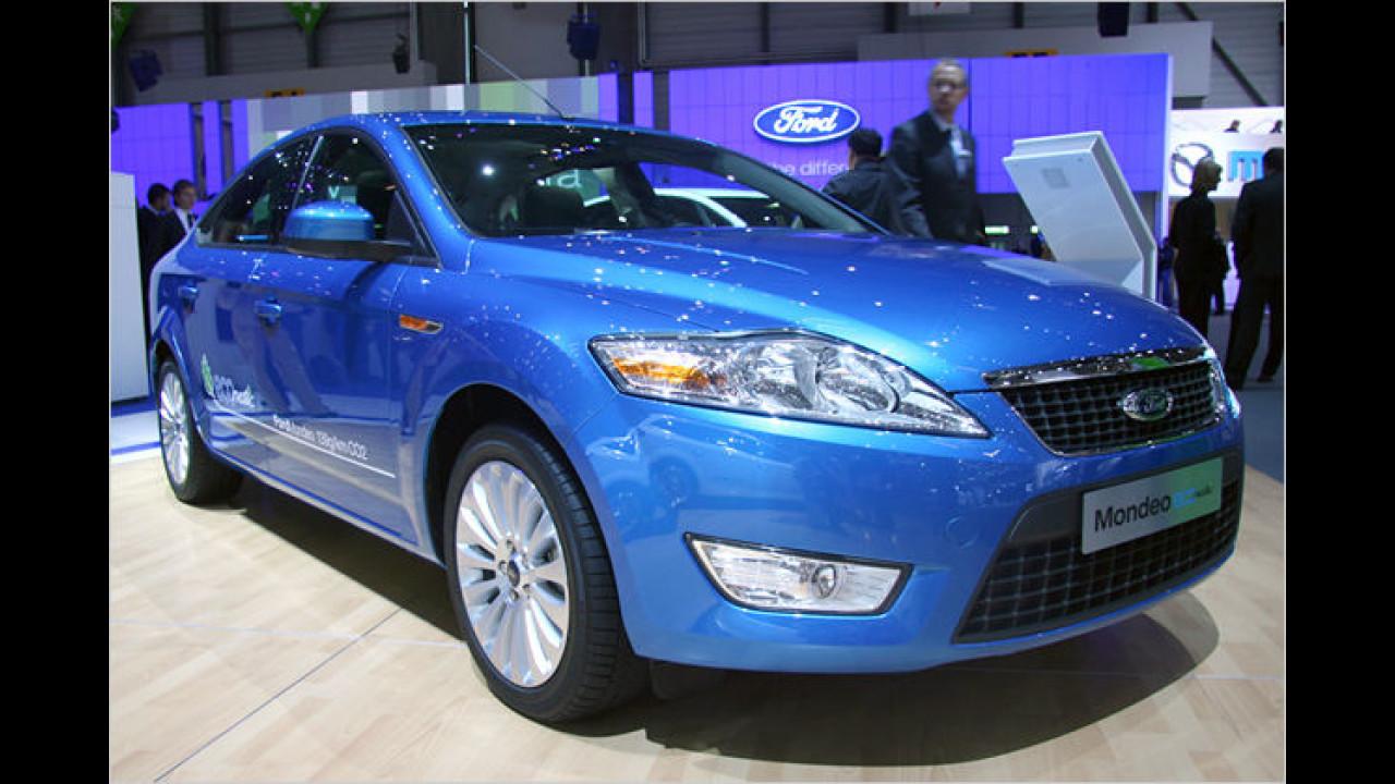 Ford Mondeo ECOnetic: Dieser Mittelklässler wird von einem besonders sparsamen Zweiliter-Diesel angetrieben
