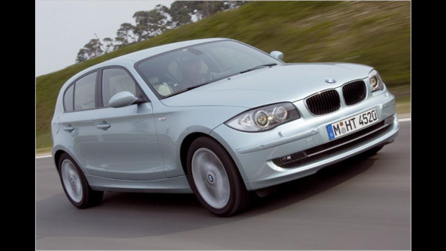 Knauser-Bayer: Neuer Einstiegs-1er ist sparsamster BMW