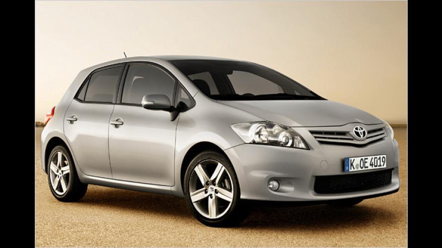 Genf 2010: Premiere für den gelifteten Toyota Auris