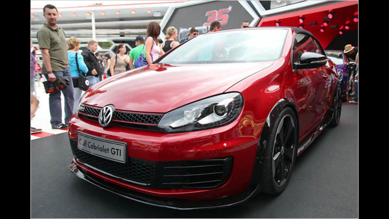 VW Golf Cabriolet GTI