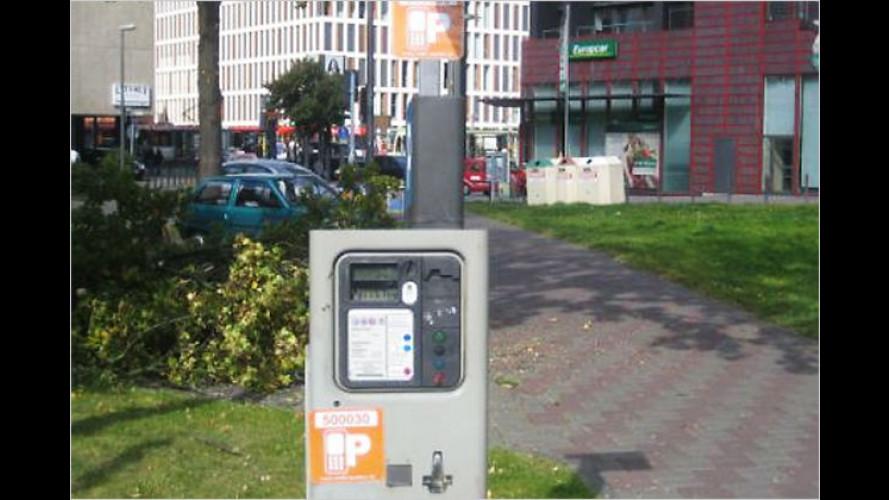 Bargeldlos und minutengenau mit dem Handy parken