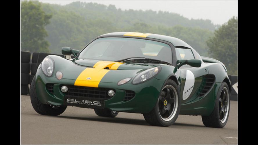 Lotus feiert Jim Clark: Type 25 Elise SC neu aufgelegt