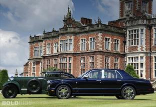 Bentley Arnage Blue Train Series
