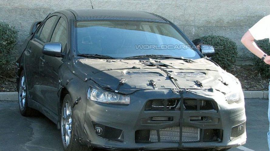 SPY PHOTOS: Mitsubishi Evo X
