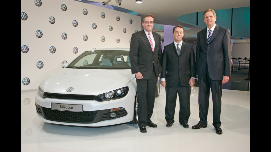 Volkswagen Scirocco a Ginevra