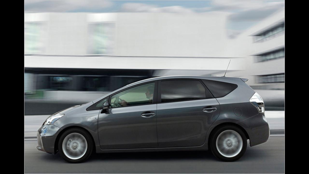Die besten Siebensitzer, Platz 1: Toyota Prius+ Hybrid, 7,38 Punkte