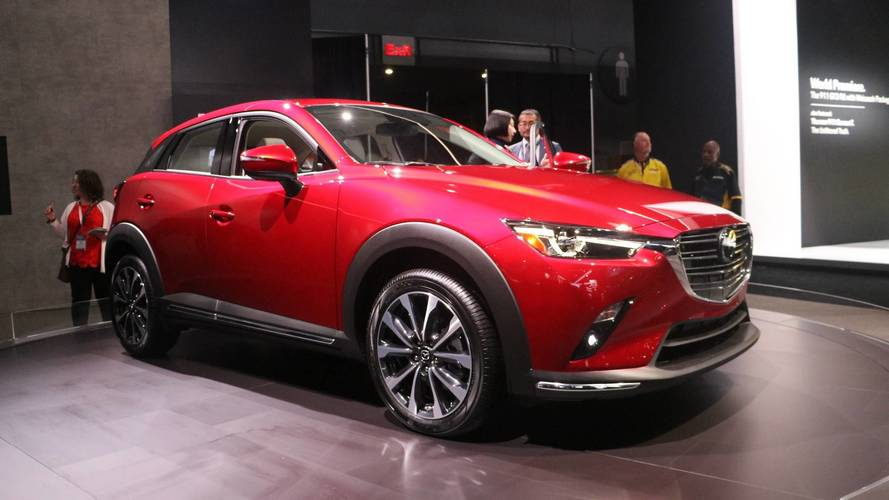 2019 Mazda CX-3 Debuts With 148 HP And Improved Interior