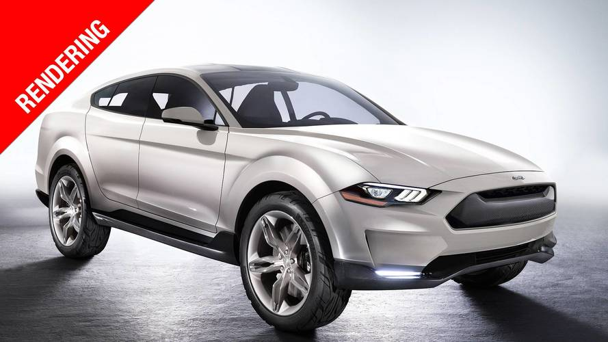 Ford Mach 1, SUV sportivo a zero emissioni