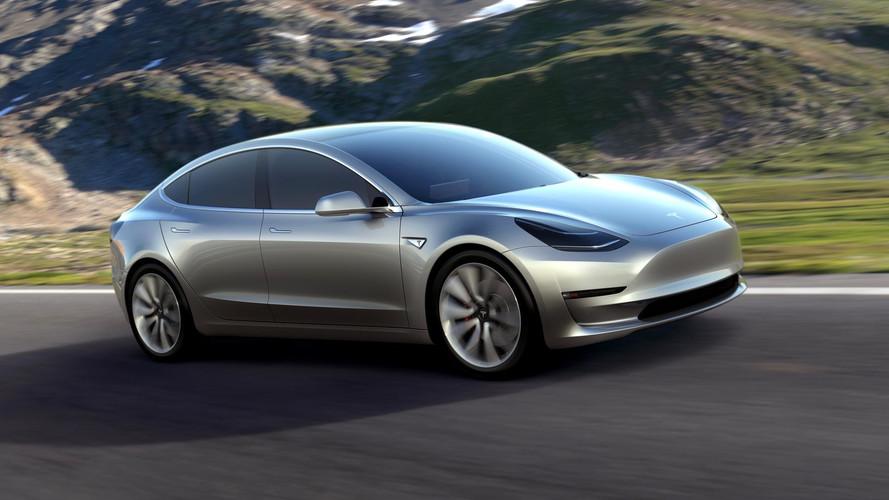 Tesla Model 3 Electric Car Begins Production