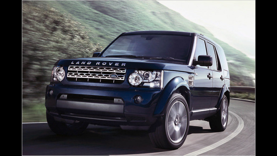 Land Rover Discovery und Range Rover Sport sparsamer