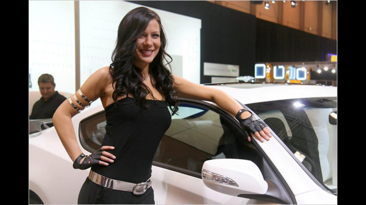 Bei diesem Lächeln würden wir ihr jedes Auto abkaufen ...