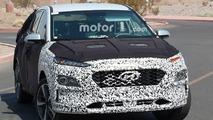 Le futur crossover compact de Hyundai en photos espion