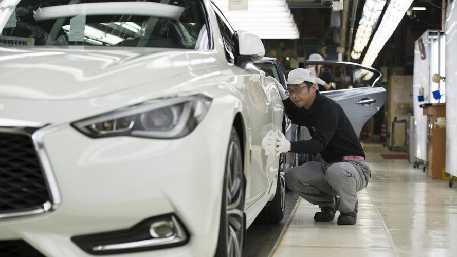 Infiniti Q60 - La production débute au Japon