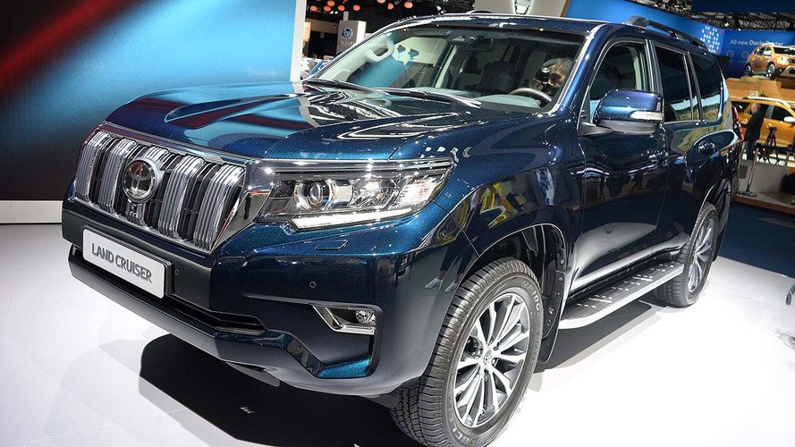 Toyota Land Cruiser Given A Refresh For 2018