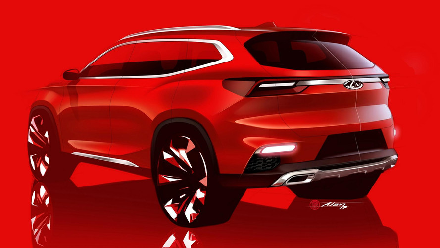 Chery compact SUV teasers