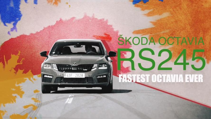 Skoda Octavia RS Drift Painting