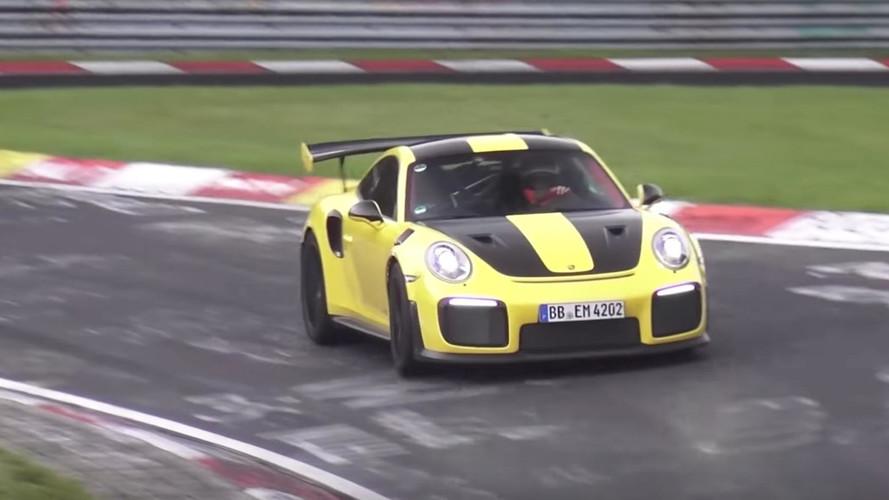 Söylentilere göre Porsche 911 GT2 RS Nürburgring'i 7 dakikanın altında turluyor