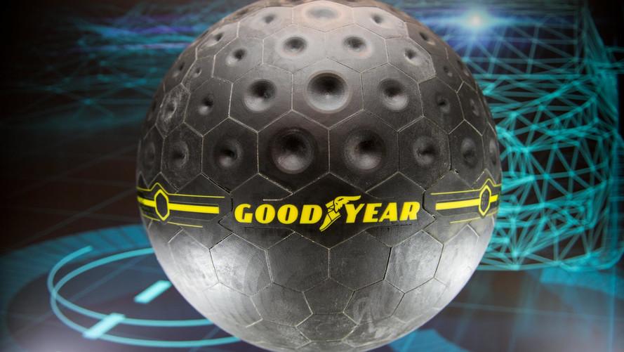 Futuro: Conhecemos de perto o pneu esférico da Goodyear