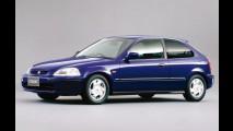 Carros para sempre: Honda Civic VTi, a lenda de 100 cv por litro!