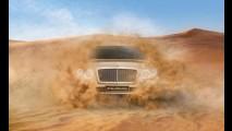 Bentley SUV só chega em 2016, mas já ganha teaser
