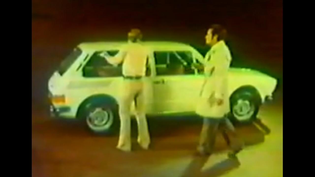 Carros para sempre: Comercial de lançamento da VW Brasília