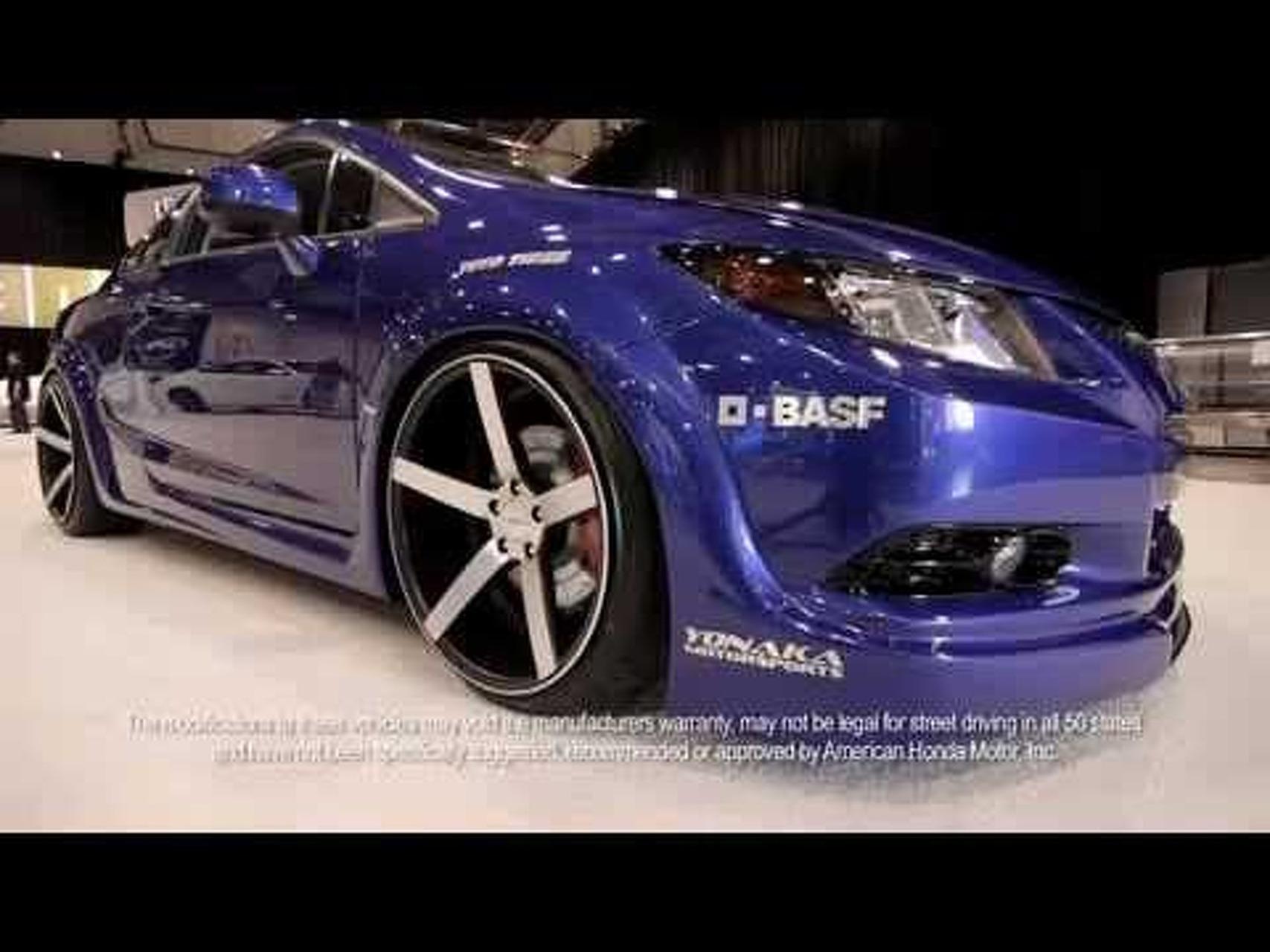 2012 Honda Civic Si Coupe Fox Marketing SEMA