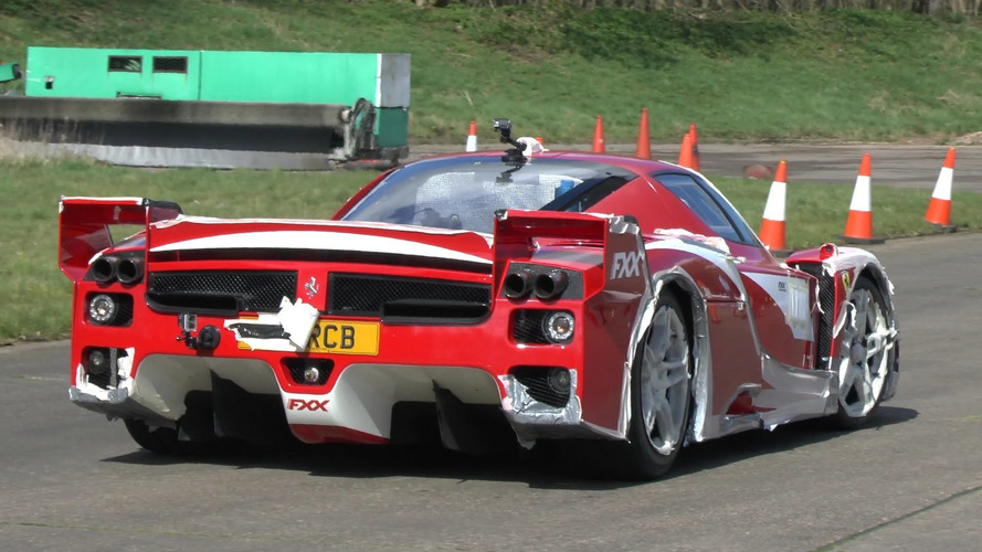 Road-legal Ferrari FXX screams up to 200 mph