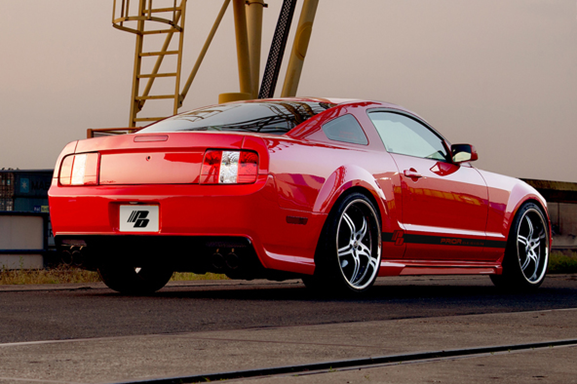 Jaw Dropper: Prior Design Mustang C5