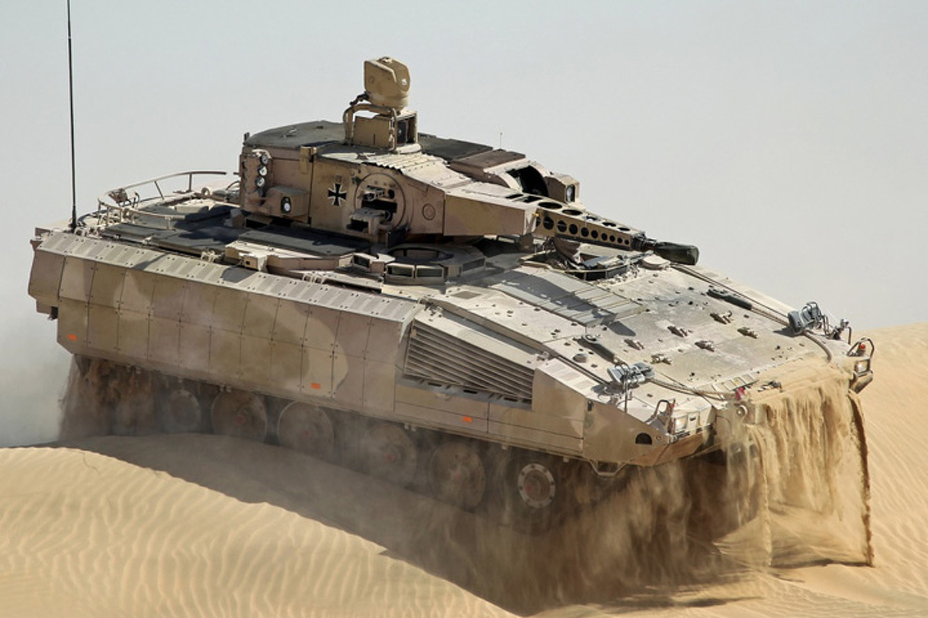 Germany's Puma APC: Is it Better than a Mercedes S-Class?