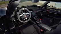 2015 Porsche 918 Spyder Weissach auction