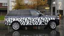 Range Rover long wheelbase SVR (not confirmed) spy photo