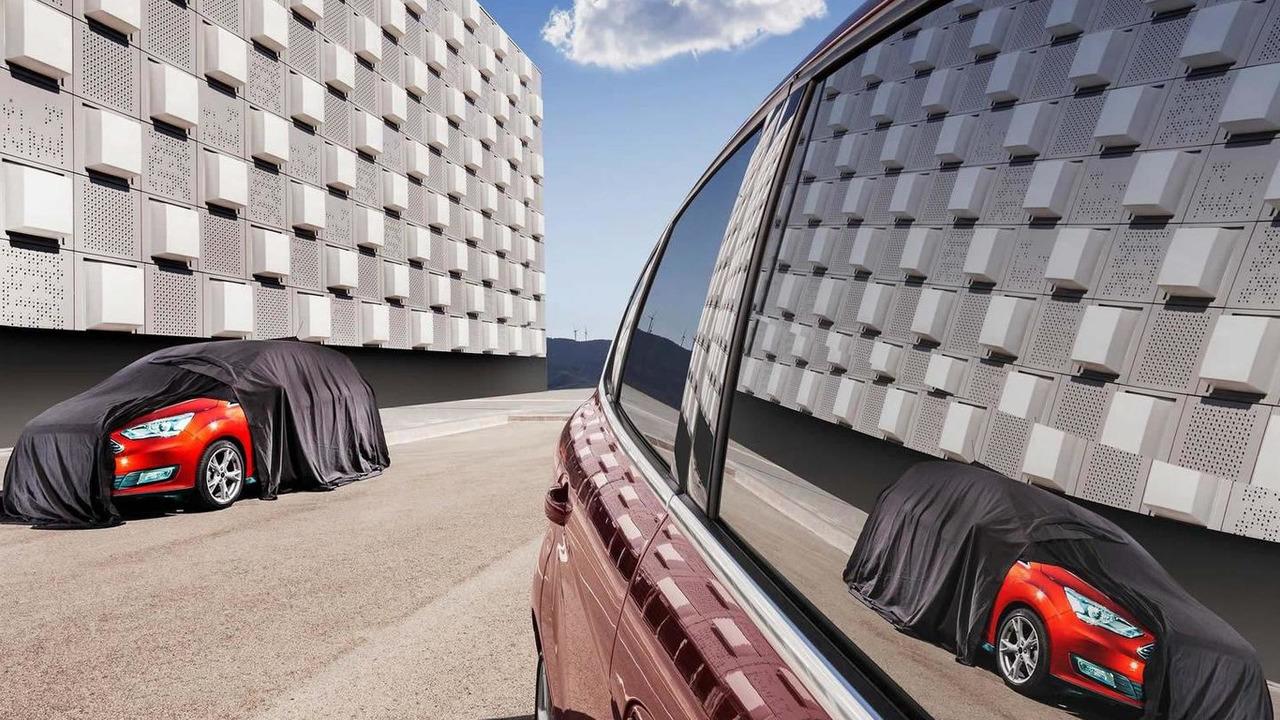 2015 Ford C-MAX facelift teaser